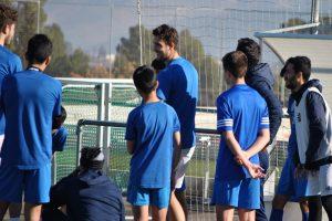 sesion de entrenamiento campamento de futbol fc porto 4