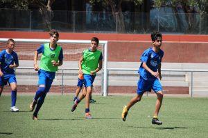 sesion de entrenamiento campamento de futbol fc porto 2
