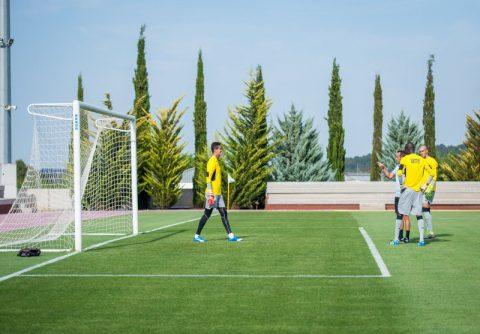 entrenamiento porteros campamento de futbol fc porto